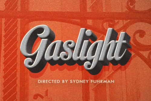 Gaslight production poster