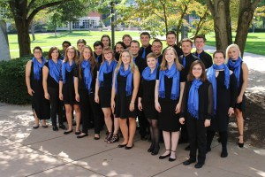 The 2017-18 Lebanon Valley College Chamber Choir