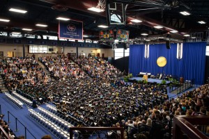 Lebanon Valley College graduates nearly 500 students.