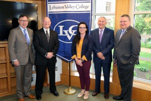photo of Lewis Thayne, Bob White, Christina Griffiths, Richard V. Poirier, and Nathan Mains