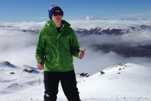 Digital Communications major and Sustainability intern Alex Bushong studies abroad in New Zealand