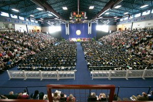 LVC Commencement Ceremony in Sorrentino Gymnasium