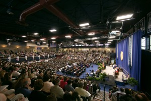 Lebanon Valley College held it's 148th commencement in Sorrentino Gymnasium
