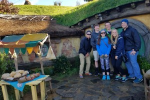 Study Abroad students explore New Zealand
