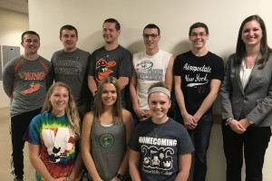 Noelle Brossman worked with LVC students in the Volunteer Income Tax Assistance program