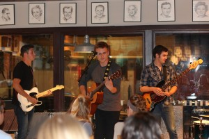 Sheridan Ave performs at MJ's Coffeehouse