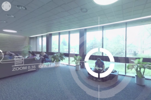Digital Communications students created a virtual tour of locations at LVC such as Blair Music Center
