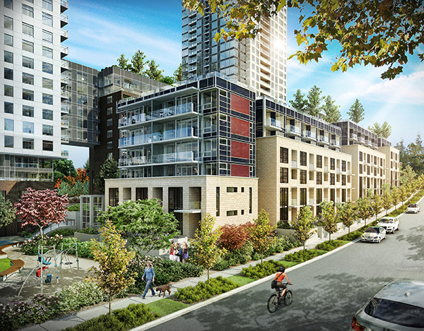 Vancouver Downtown 2 bedroom Apartment For Rent