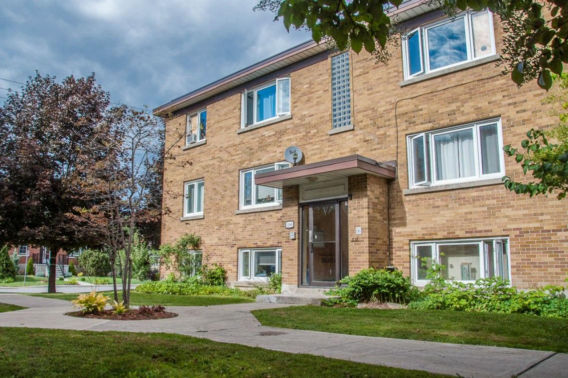 Ottawa Est 2 chambre à coucher Appartement À louer