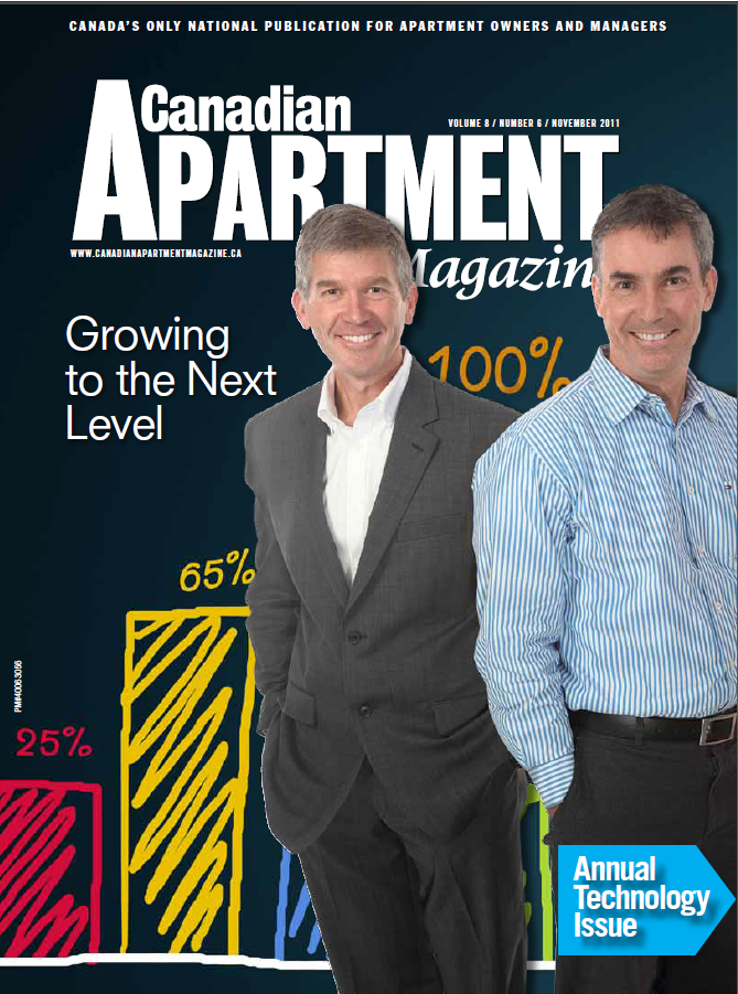 DMS Featured in Canadian Apartment Magazine
