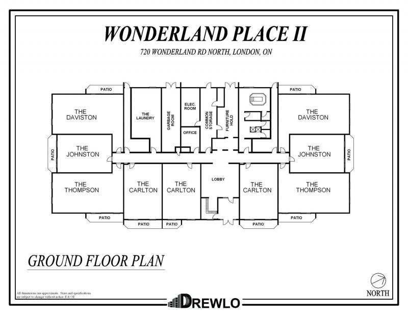 Wonderland place ii drewlo holdings for Apartment floor plans london
