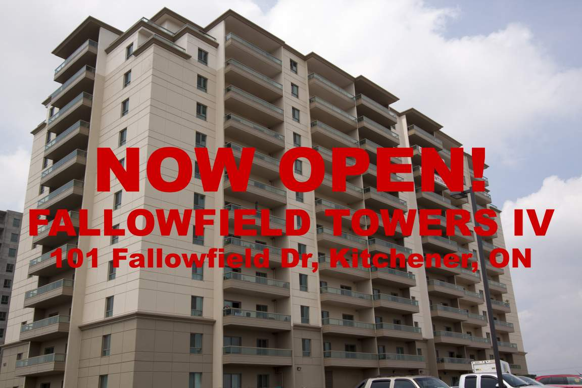 Kitchener West 1 bedroom Apartment For Rent
