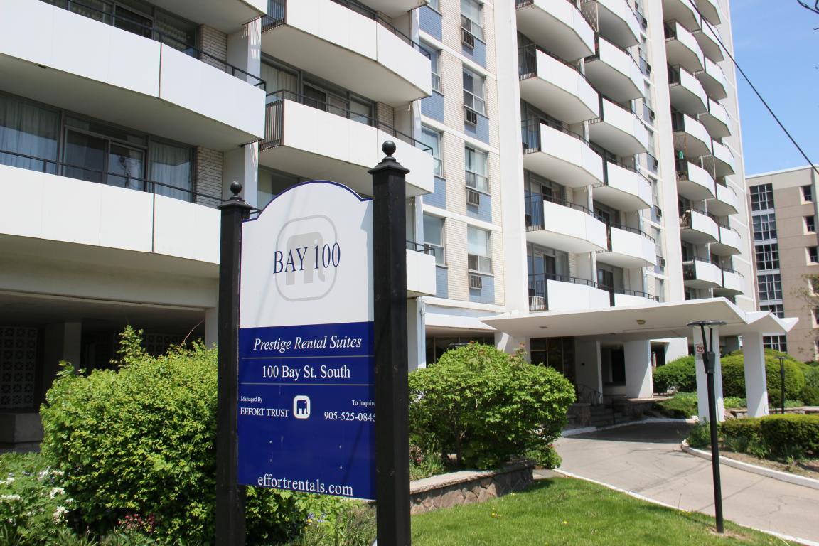 Bay 100 apartments 100 bay st s hamilton effort trust - One bedroom apartment for rent hamilton ...
