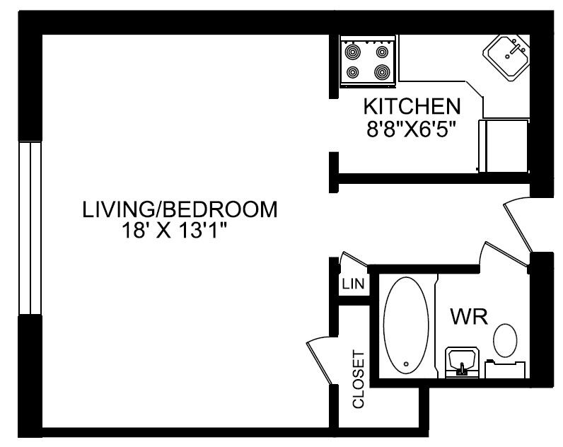 1140 kingston rd greenwin for Bachelor house plans
