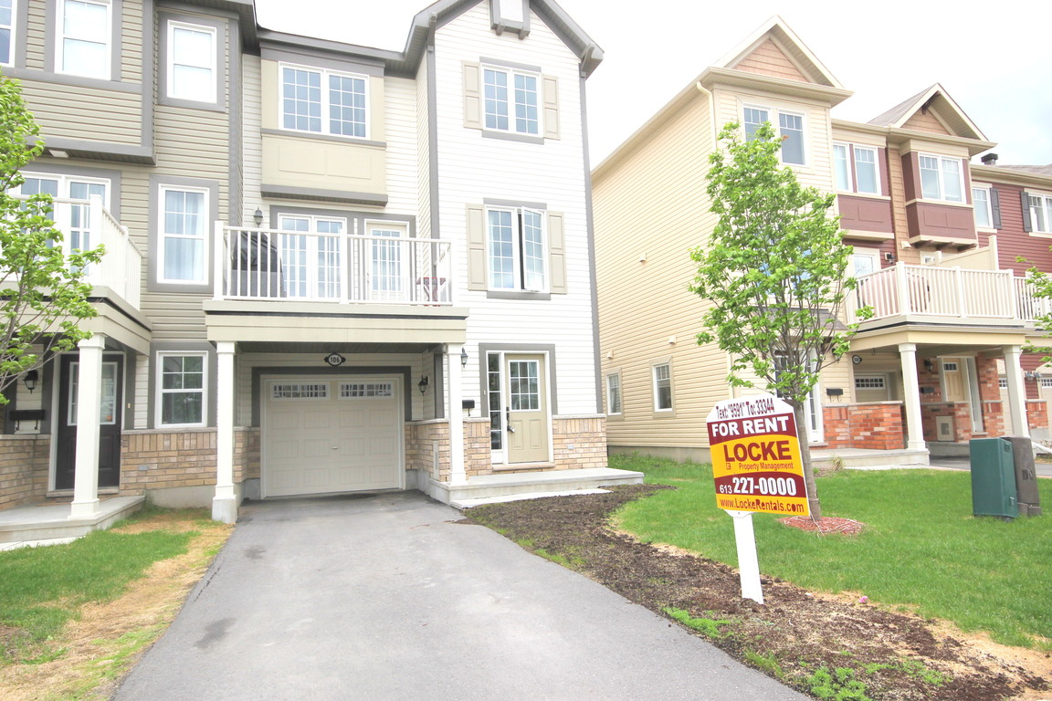 ottawa east townhouse for rent 2 bedrooms