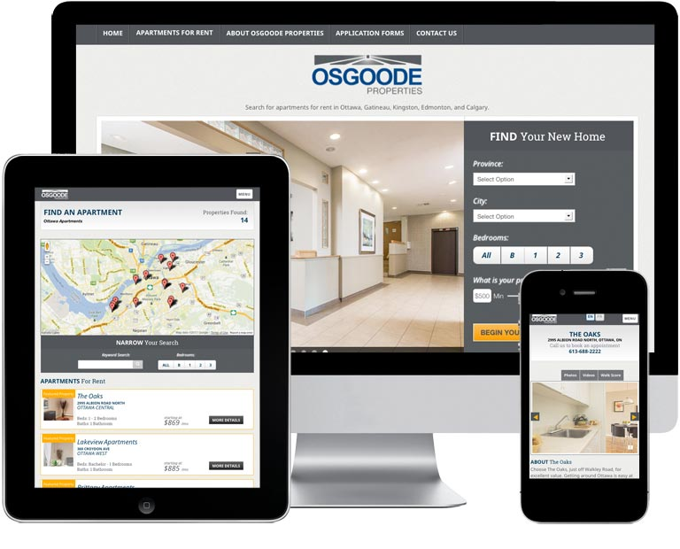 Osgoode Properties Responsive Website