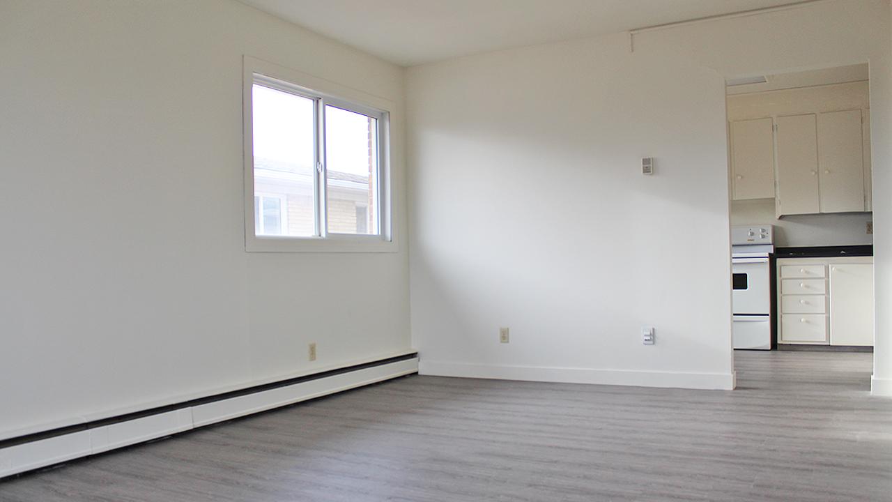 Regina Ouest 1 chambre à coucher Appartement À louer