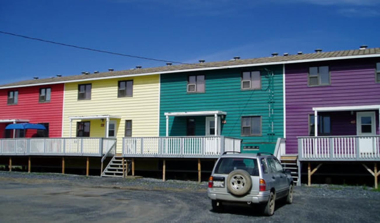 Inuvik Maison urbaine pour le loyer, cliquer pour plus de détails...