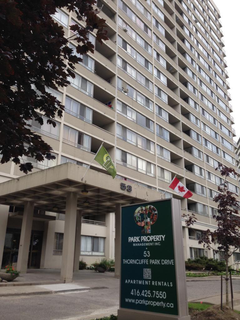 Toronto Centre 1 chambre à coucher Appartement À louer