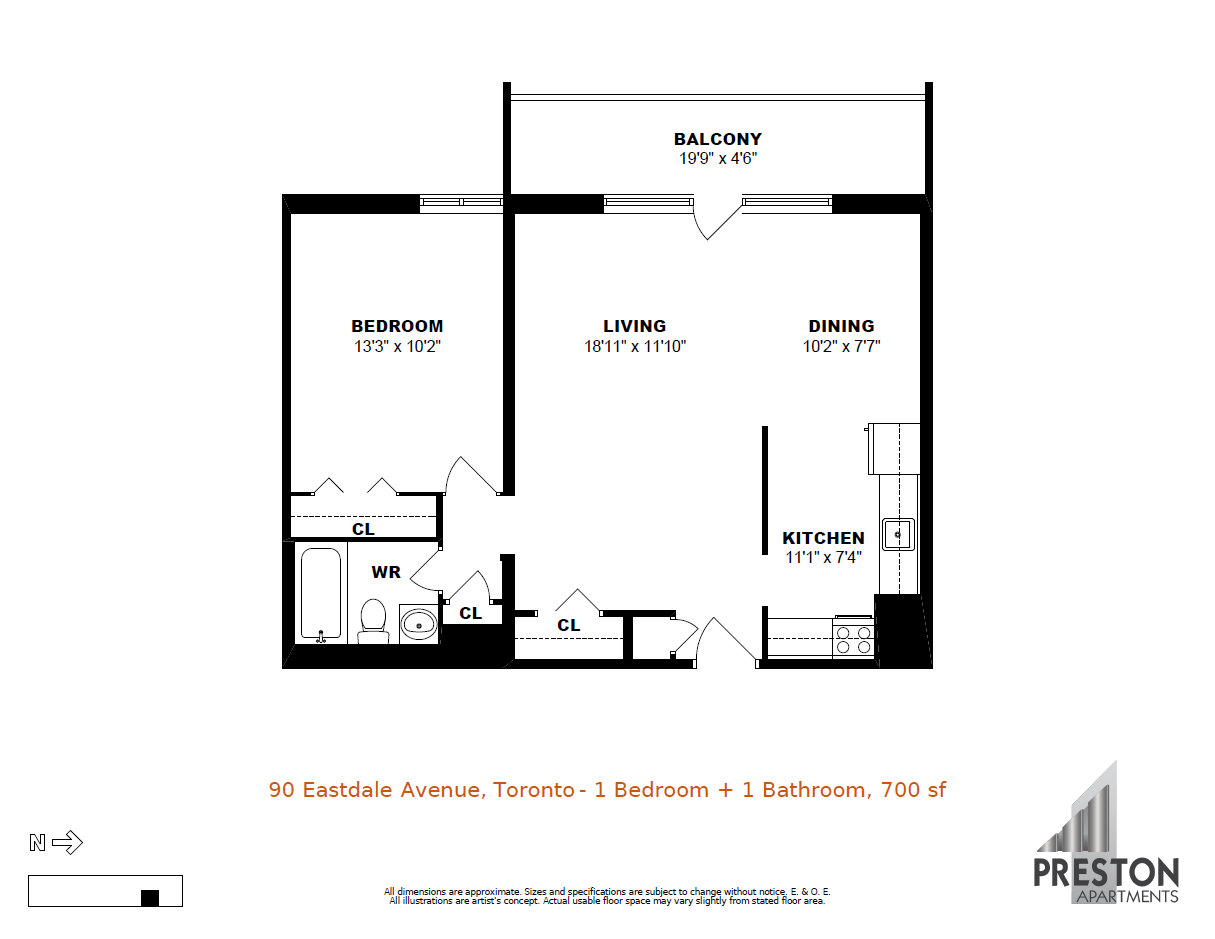 90 eastdale avenue toronto apartments preston group for 100 floors floor 90