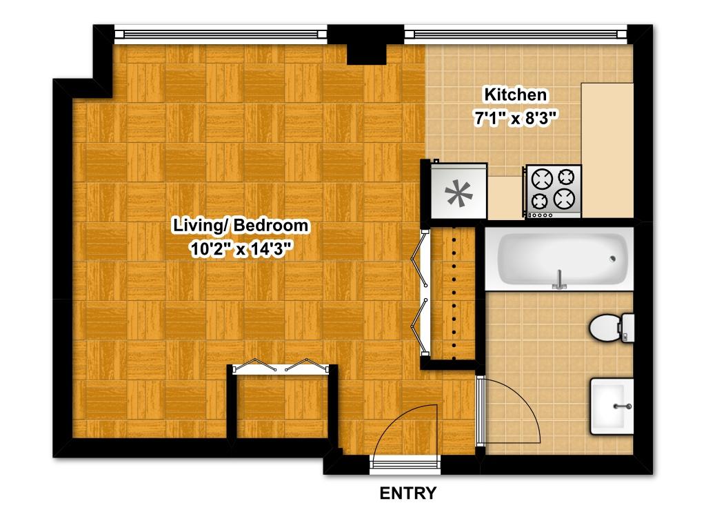 222 elm street elm place sterling karamar for Apartment floor plans toronto
