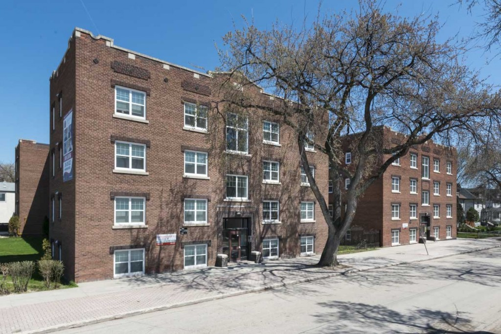 winnipeg central apartment for rent one bedroom