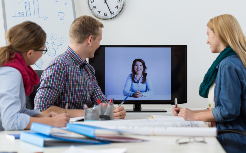 Video conferencing - filling the gap in your team | LyteSpark