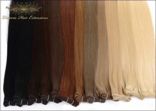 "16"" - 28""  Silky Straight Indian Human Hair Weft Extensions FAST DELIVERY"