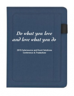 Do What You Love Padfolio