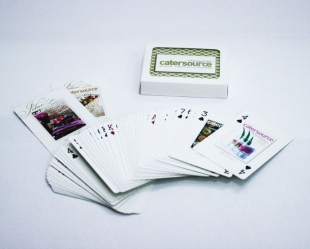 Catersource 20th Anniversary Playing Cards