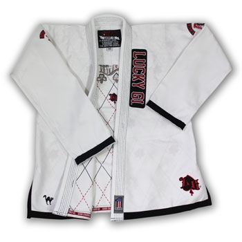 Lucky Aces and 8's Gi- White