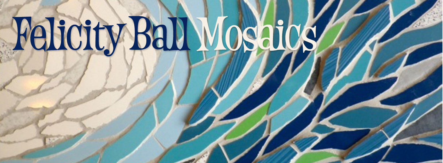 Felicity Ball mosaics - ready to post shop