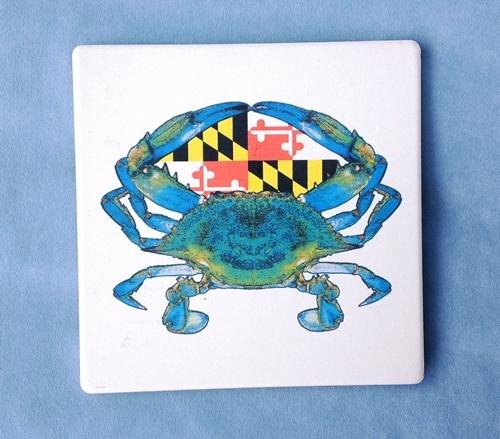 Maryland Flag Crab Trivet