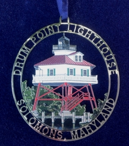 Drum Point Lighthouse Ornament