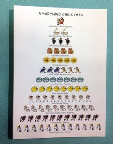 A Maryland Christmas Cards