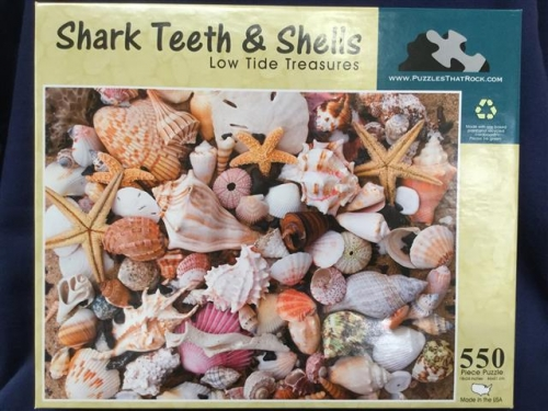 Shark Teeth and Shells Puzzle