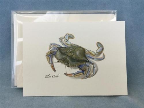 Blue Crab Notecards