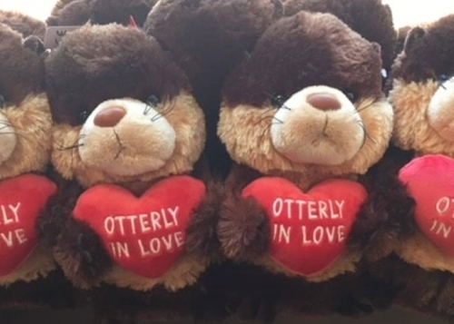 Otterly in Love Plush