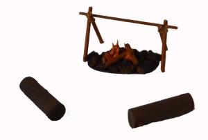 Campfire accessory set