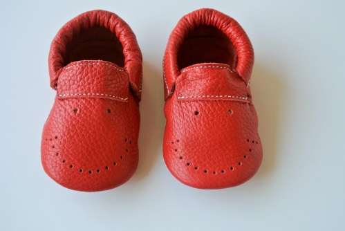 Happy Moccs Red