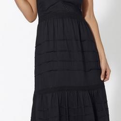 Vestido ibicenco negro