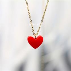 ハートネックレス 女性 人気 プレゼント 彼女 ネックレス k18ゴールド クリスマスプレゼント ホワイトデー