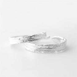 ペアリング おすすめ 安い リング ペア シルバー プレゼント 刻印無料 結婚指輪 マリッジリング 天使の羽 サイズ調整可