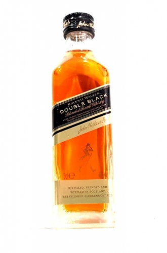 Johnnie Walker Double Black Label Whisky Miniature