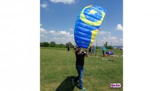 "Para-RC Paraglider ""Dudek S-Lite"" blue-yellow"