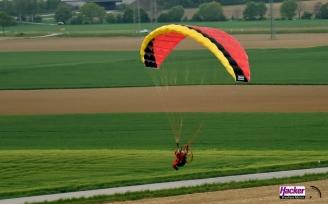 "Para-RC Paraglider ""RC-FLAIR"" - Yellow/Black/Red"