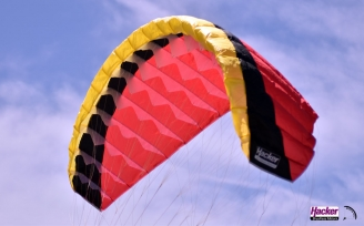 Para-RC Paraglider RC-Flair 2.4 - Yellow/Black/Red