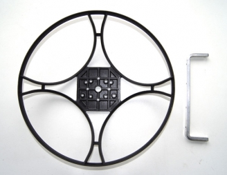 Para-RC Prop-cage (Plastic) + Crossbar
