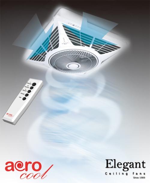 Ceiling Circulator Fan & Ionizer
