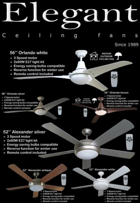 Elegant Ceiling Fans Brochure